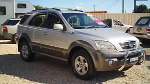 2004 Kia Sorento Wagon 4X4 AUTO UPGRADE! Weston Cessnock Area Preview