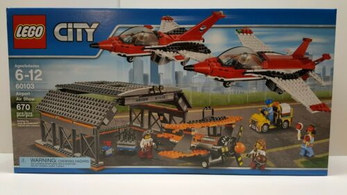 LEGO 60103 Airport Air Show City Building New and Sealed