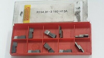 Sandvik R154.91-3 160 H13A 10PCS