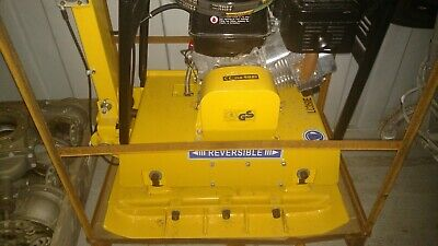 New Loncin Lc350 13hp Gas Powered Vibratory Reversible Trench Plate Compactor