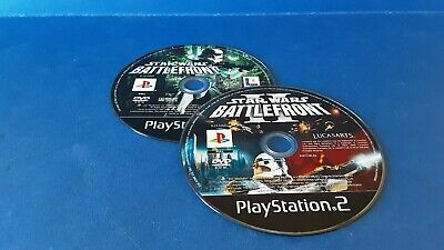 STAR WARS BATTLEFRONT I & II PLAYSTATION 2