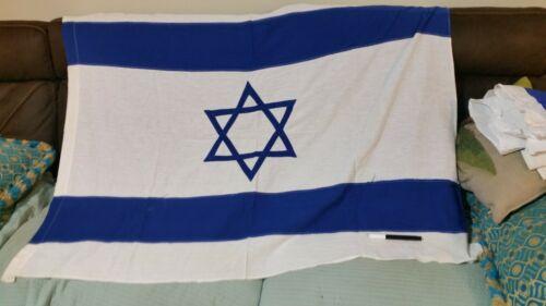 israeli vintage flag real flag made in israel cotton 2