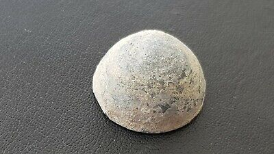 Rare Roman lead gaming piece found in York/Eboracum A must read description L28j