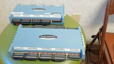 Lot Of 2 Measurement Computing Usb-quad08 Data Acquisitionencoder Modules