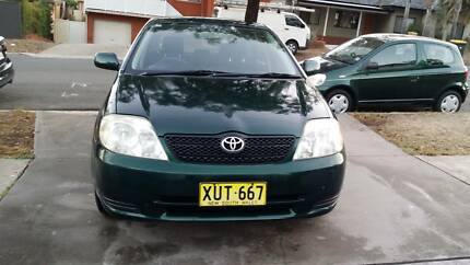2001 Toyota Corolla Conquest Auto still very good car with books.