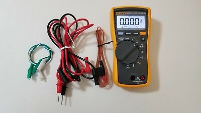 Used Fluke 116 Trms Multimeter With Temperature Probe And Test Leads Tp239368