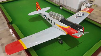 RC remote control plane- AT-6 25e Texan ARF