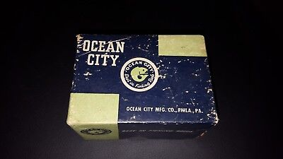 Vintage Ocean City No. 1581 Level Wind Baitcasting Fishing Reel Box Box Only (Wind City Sole)