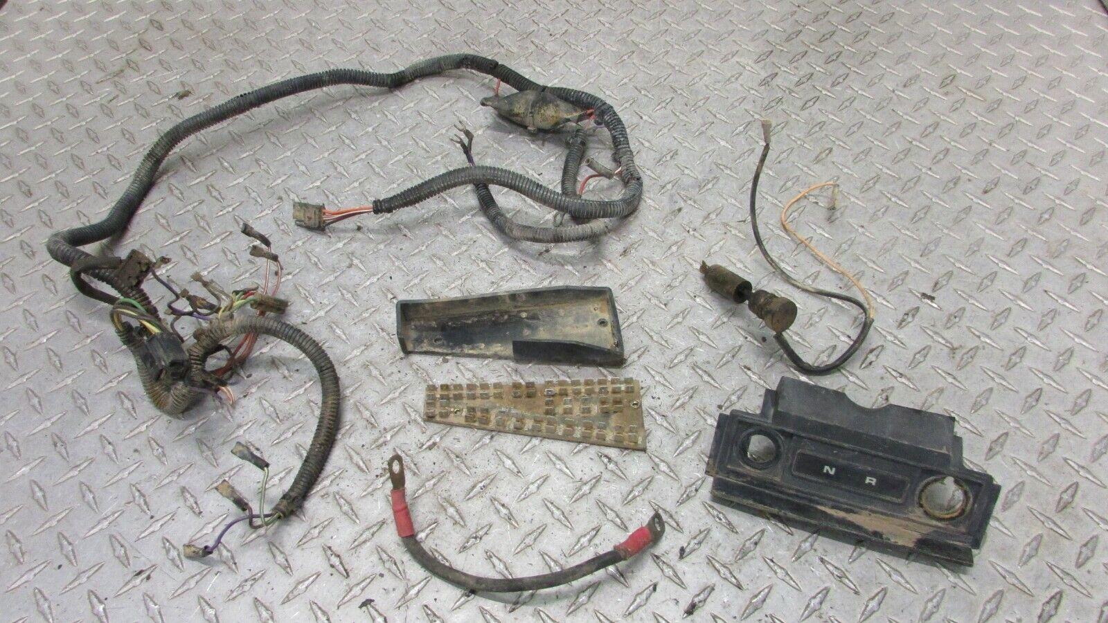 Polaris Trail Boss Wiring Harness Dash Panel Circuit Board