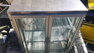 Commercial display fridge