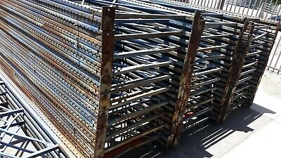 Pallet Racking Upright Beams 15 X 42 Blue Shelves Shelving