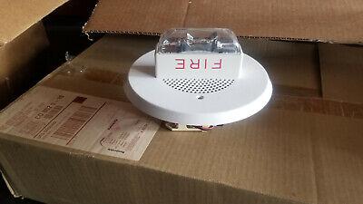 Wheelock Ch90-24mc Symplex Smoke Detctor Fire Alarm System Strobe Horn White