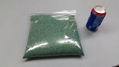 Glass Filled Nylon Plastic Pellets Green Color 4 Lbs