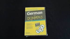 German For Dummies Audio Set - as new - unopened Keperra Brisbane North West Preview