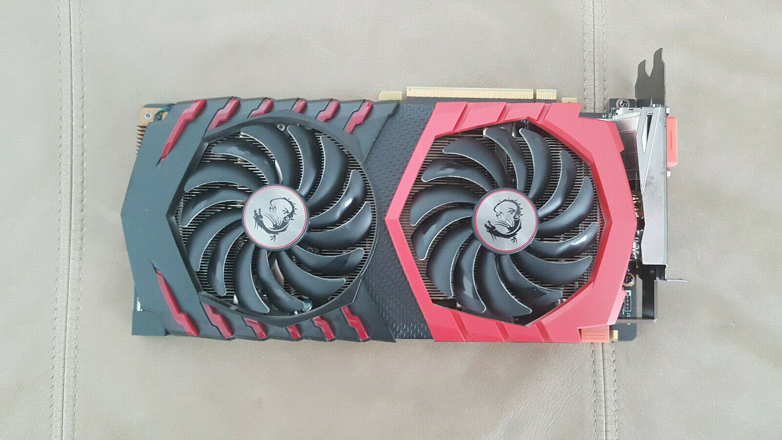 Msi nvidia geforce gtx 1080 8 go gddr5x carte graphique (gtx 1080 gaming x 8g)