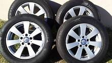 """16"""" GENUINE Mercedes-Benz wheels and tyres off 2007 W204- C200K Sylvania Sutherland Area Preview"""