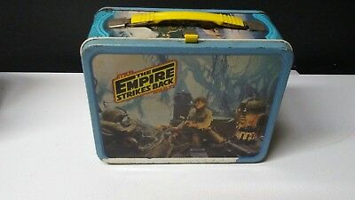 Vintage 1980 STAR WARS The Empire Strikes Back Metal Lunchbox