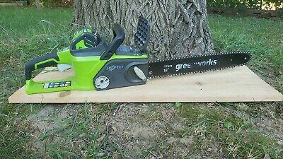 Greenworks 20312 Digi-Pro 40V 16 inch Li-Ion Cordless Chainsaw w/ Battery