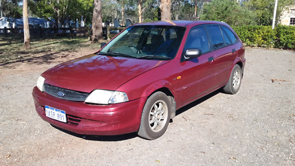 Ford Laser 215000km, Engine is just 145000km