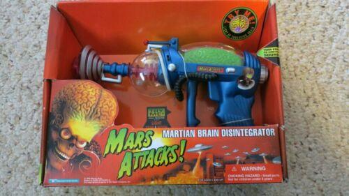 1996 MARS ATTACKS Martian Brain Disintegrator Trendmasters NRFB Orange Box
