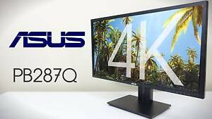 "28"" 4K Ultra HD Asus Monitor PB287Q LED Eye Care 1 ms (RRP $899) Auburn Auburn Area Preview"