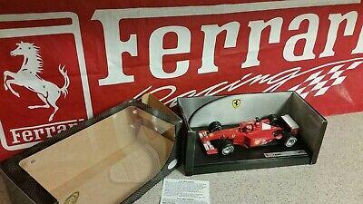 FERRARI RACING 2001 Formula-1 Schumacher:  Hot Wheels 1:18 Scale