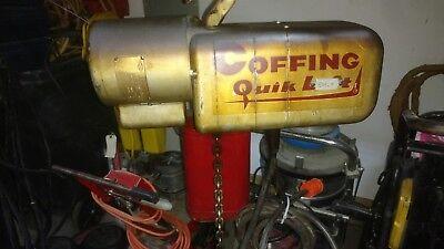 Coffing 14 Ton Electric Chain Hoist Lift 110230volt