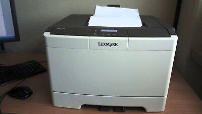 Lexmark cs410dn comme neuf - seulement 44 compteur +100% consumer