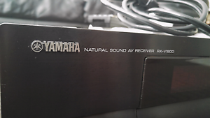 Receiver amp home theatre Yamaha RX-V1800 for sale Point Cook Wyndham Area Preview