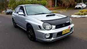 SUBARU IMPREZA WRX 2001 CLEAN CAR 1YEAR REGO 161 KW 216HP Belmore Canterbury Area Preview