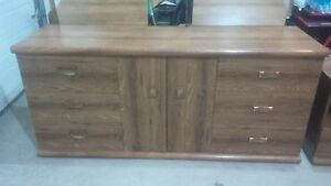 Dresser, 2 side tables, and wardrobe(Chester)
