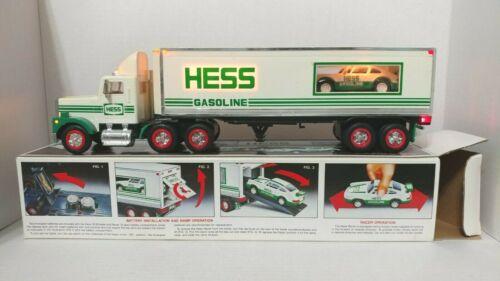 1992 Hess 18 Wheeler Truck w/Porsche Racer (#110)