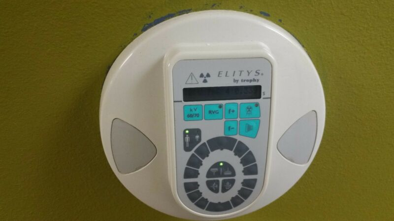 ELITYS by Trophy Model TRX708 Wall-Mounted Dental Xray Machine USED