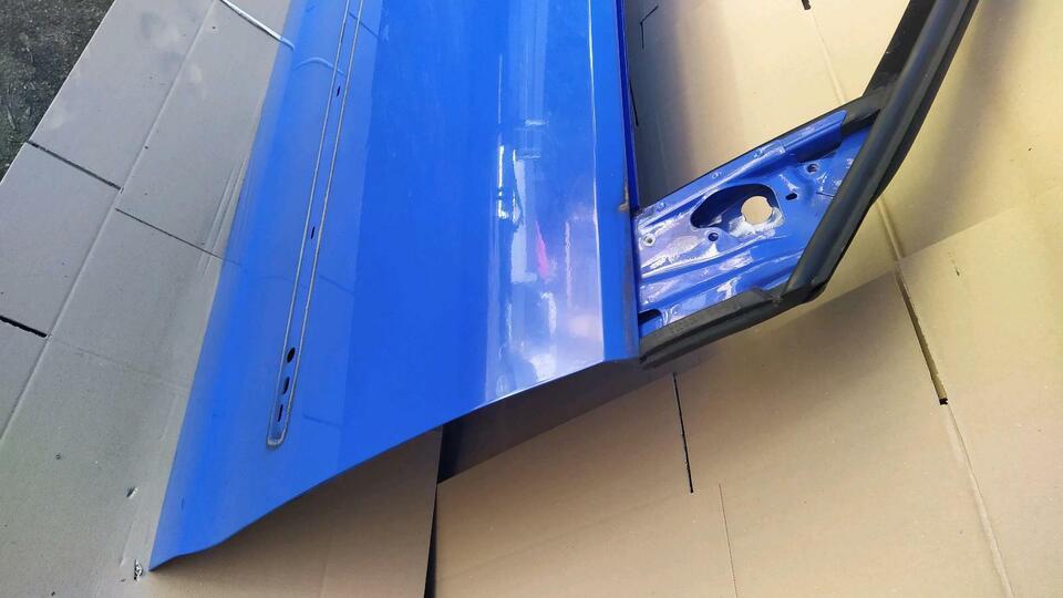 Tür VW Polo 9N 9N3 Bj 02 - 2009 Farbe LA5F Rechts in Saarland - Neunkirchen