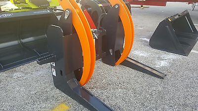 Mb Log Wood Root Grapple Skid Steer Tractor Attachment 0-32