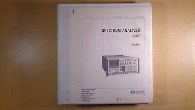 Hp Spectrum Analyzer 3585a Service Manual Volume I Oem 8e B5