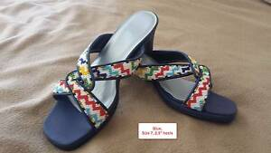 Hand Sewn Delicate Beaded Shoes (Sizes 6-7) Nollamara Stirling Area Preview