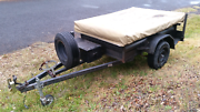 Camper Trailer with Oztrail tent Forster Great Lakes Area Preview
