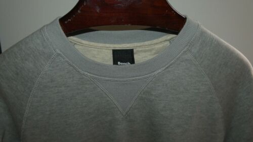 Sweat gris bench, col rond ! taille m