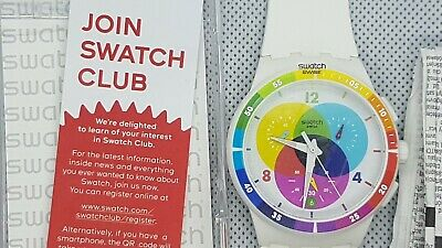 SWATCH WATCH - CHRONOGRAPH SUSW404 - UNUSED IN BOX! RARE!! COOL!!!