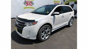 2013 Ford Edge Sport, Navigation, Leather, Panoramic Sunroof, AW