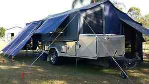 ALUMINUM OFF ROAD CAMPER Emerald Central Highlands Preview