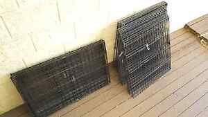 Dog fencing x 3 + collapsible travel cage Dalyellup Capel Area Preview