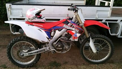 2011 Crf450r swap for 250 Moree Moree Plains Preview