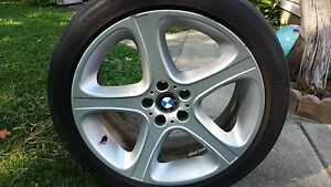BMW style 87 rims and tires