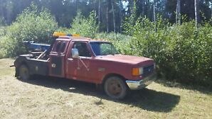 1989 F350 Tow Truck