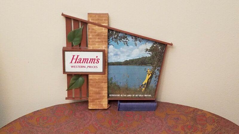 Vintage Hamms Beer Sign