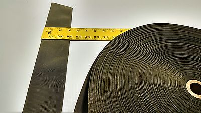 "Desert Sand Webbing Fabric 1/"" Inch Military Spec 5 Yard Roll Outdoor Camo #278"
