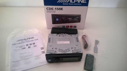 Alpine Head Unit CDE-150E Brunswick Moreland Area Preview