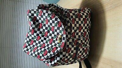 vans backpack bag cherry Design